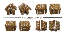 "Load image into Gallery viewer, ""Victorian Valentine"" Mug Buddy Topper Duo"