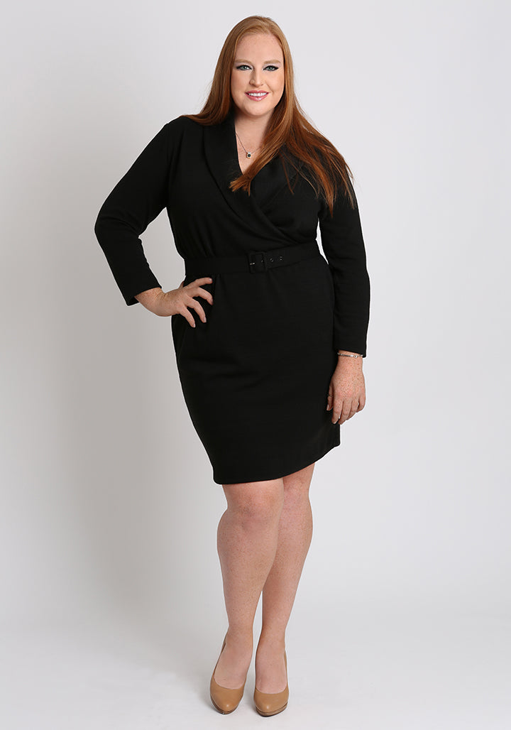 Curvy Women\'s Plus Size Sweater Dress | the JORDYN dress – TD New York