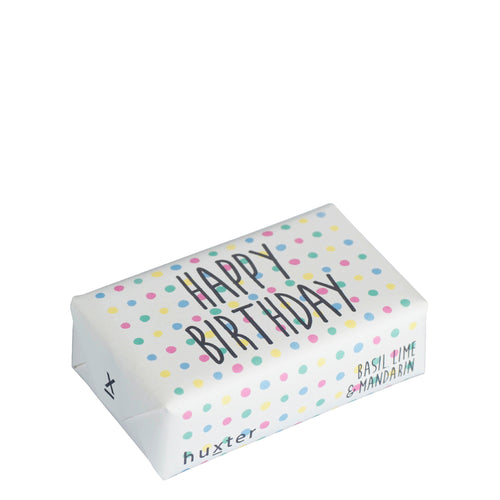 Bar Soap - Happy Birthday Pastel Spots
