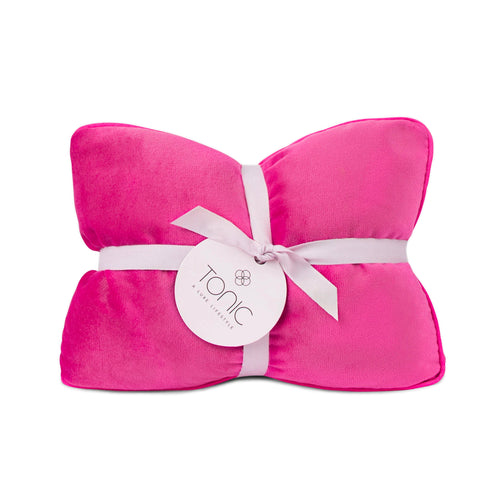 Luxe Velvet Heat Pillow Berry