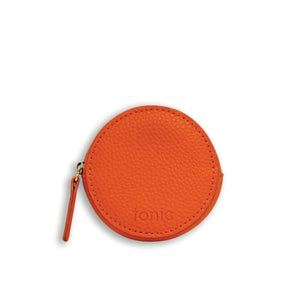 Coin Purse Luxe POP Orange - Cie Luxe | Your Life Styled