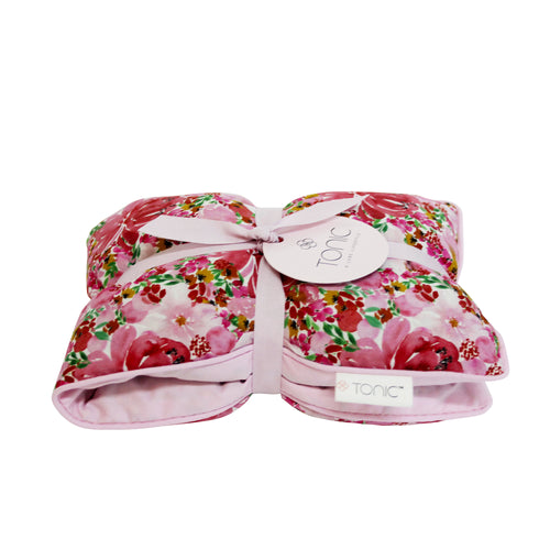 Heat Pillow Flourish Pink