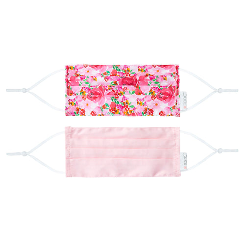 Face Mask 2 Pack Flourish Pink