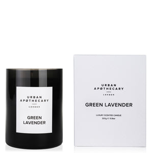 Green Lavender Candle