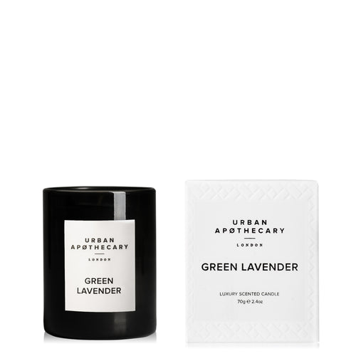 Green Lavender Mini Candle