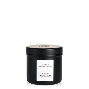 Oudh Geranium Travel Candle - Cie Luxe | Your Life Styled