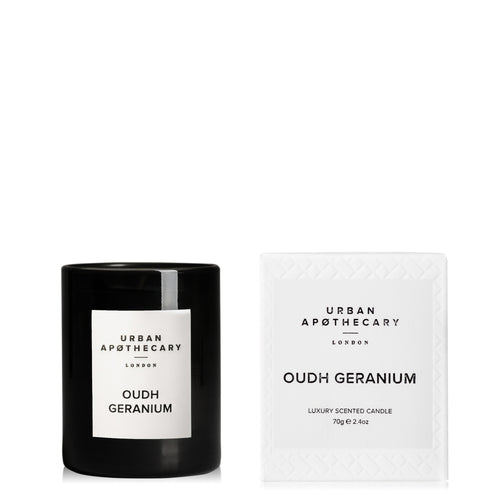 Oudh Geranium Mini Candle