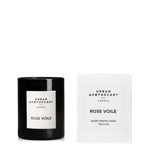 Rose Voile Mini Candle