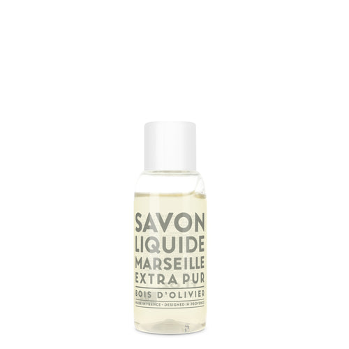 Travel Liquid Marseille Soap - Olive Wood