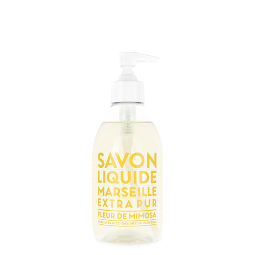 Liquid Marseille Soap 10 fl. oz. - Mimosa Flower - Cie Luxe | Your Life Styled