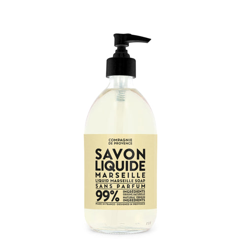 Liquid Marseille Soap 16.7 fl. oz. - Fragrance Free