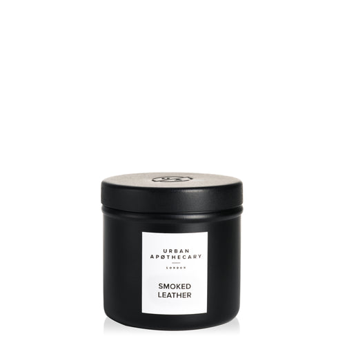 Smoked Leather Travel Candle - Cie Luxe | Your Life Styled