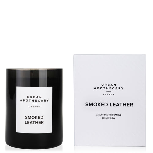 Smoked Leather Candle