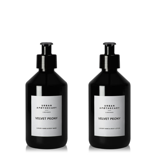 Velvet Peony Luxury Hand & Body Wash + Hand & Body Lotion