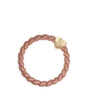 Woven Gold Heart - Rose - Cie Luxe | Your Life Styled