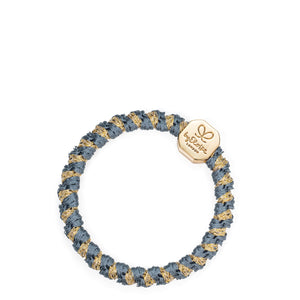 Woven Gold Nugget - Azure