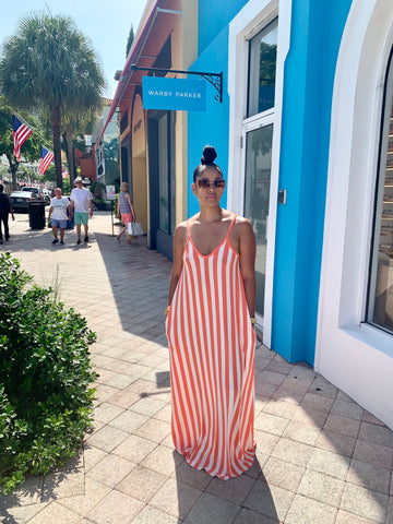 Summer time maxi dress (Coral)