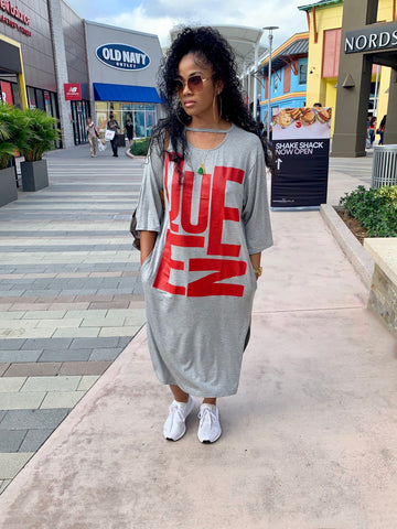 QUEEN oversized T-shirt dress RESTOCKED