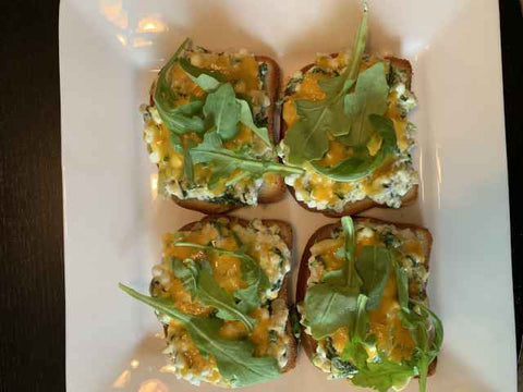 Spinach & Artichoke Bruschetta - Sunburst Fitness Supply
