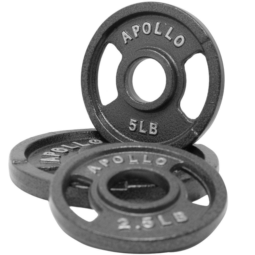 Apollo Athletics Charcoal Gray Olympic Grip Plate plate Apollo Athletics