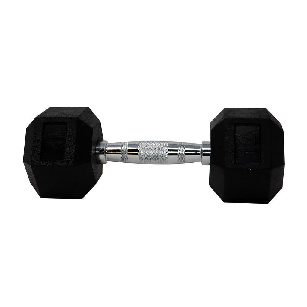Apollo Athletics Rubber Hex Dumbbell dumbbell Apollo Athletics