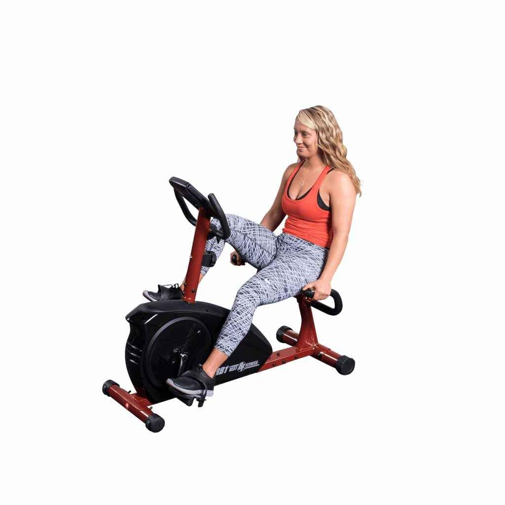 Best Fitness Recumbent Bike (BFRB1R) Cardio Training Best Fitness