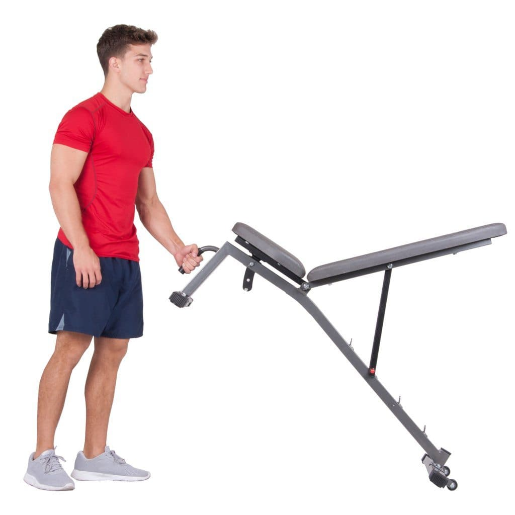 Body Champ PRO3900 Two Piece Set Olympic Weight Bench ...