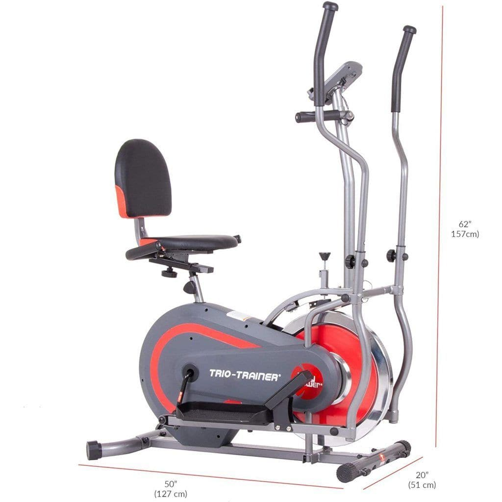 Body Power BRT5118 Trio Trainer elliptical Body Power