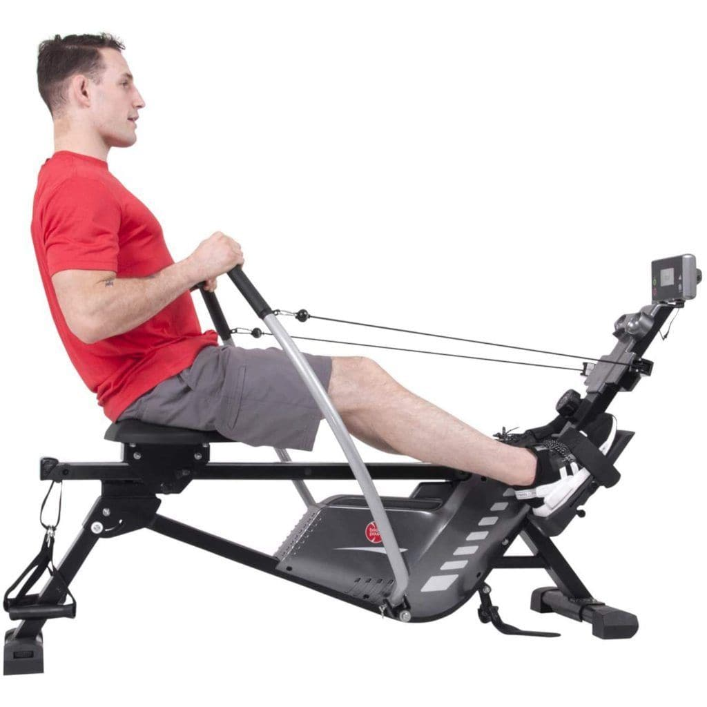 Body Power BRW5816 3-IN-1 Conversion Rowing Machine With Strength Resistance Cable Training rowing machine Body Power