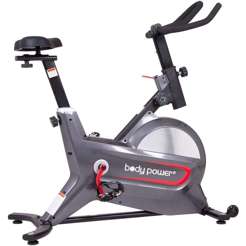 Body Power ERG8000 Deluxe Indoor Cycle Trainer With Curve-Crank Technology bike Body Power