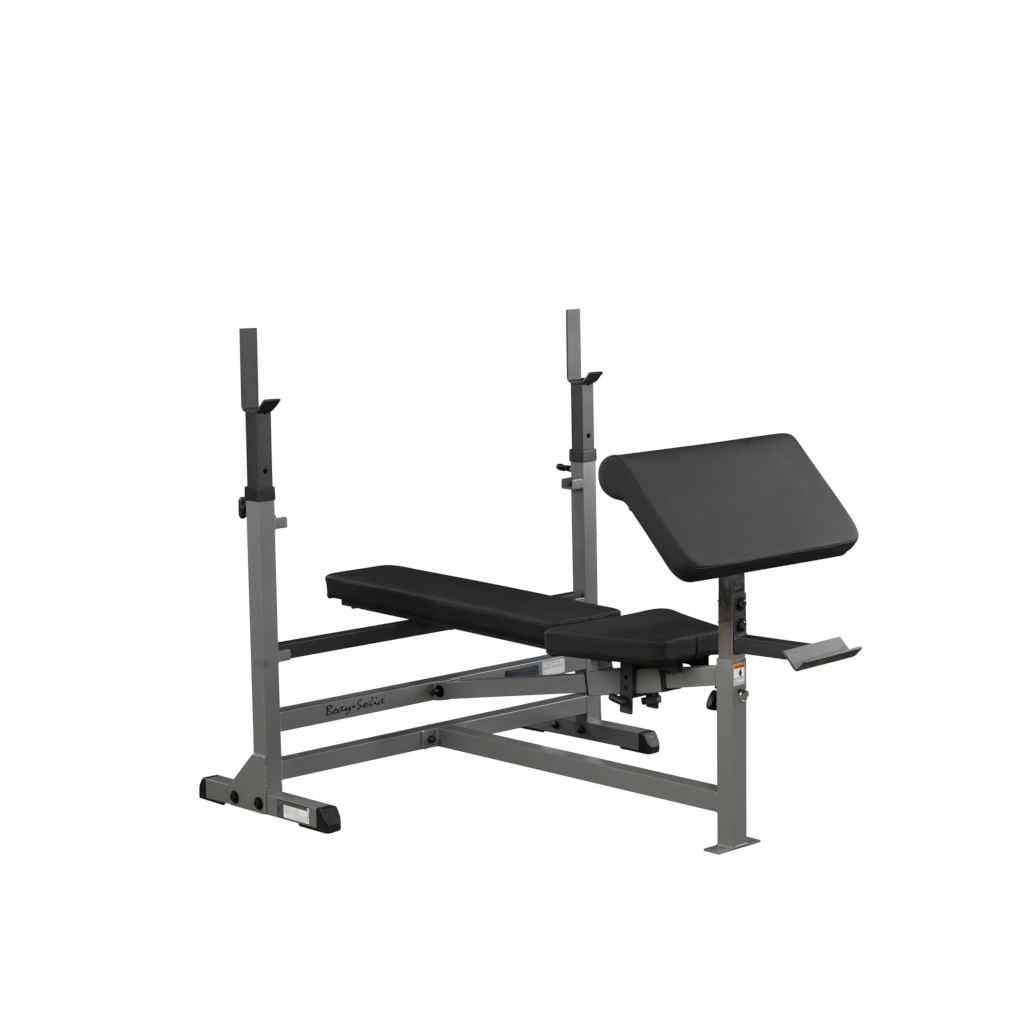 Body-Solid Preacher Curl Station (GPCA1) free weight attachment Body-Solid