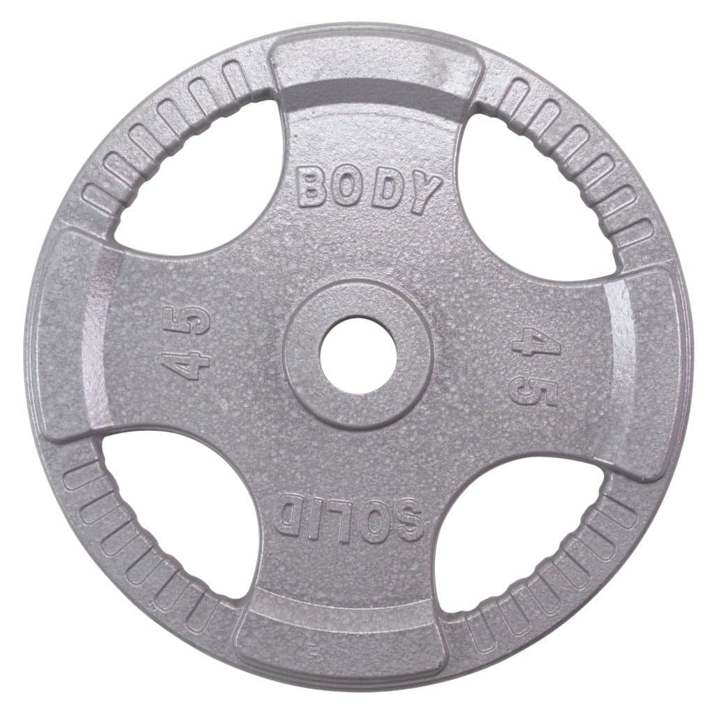 Body-Solid Steel Grip Olympic Plates (OPT) free weight Body-Solid