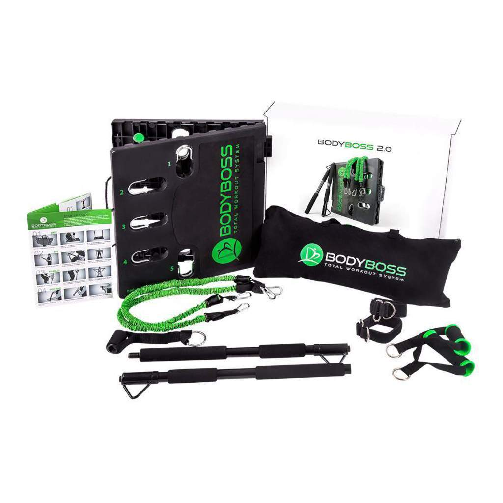 BodyBoss Portable Gym System 2.0 BodyBoss BodyBoss Green