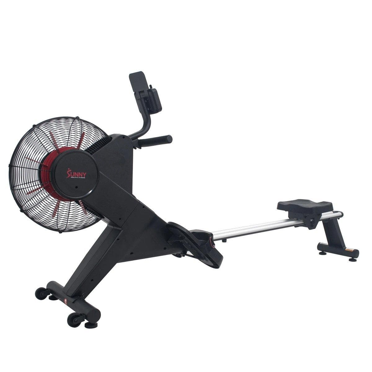 Carbon Premium Air Magnetic Rowing Machine Cardio Training Sunny Health and Fitness