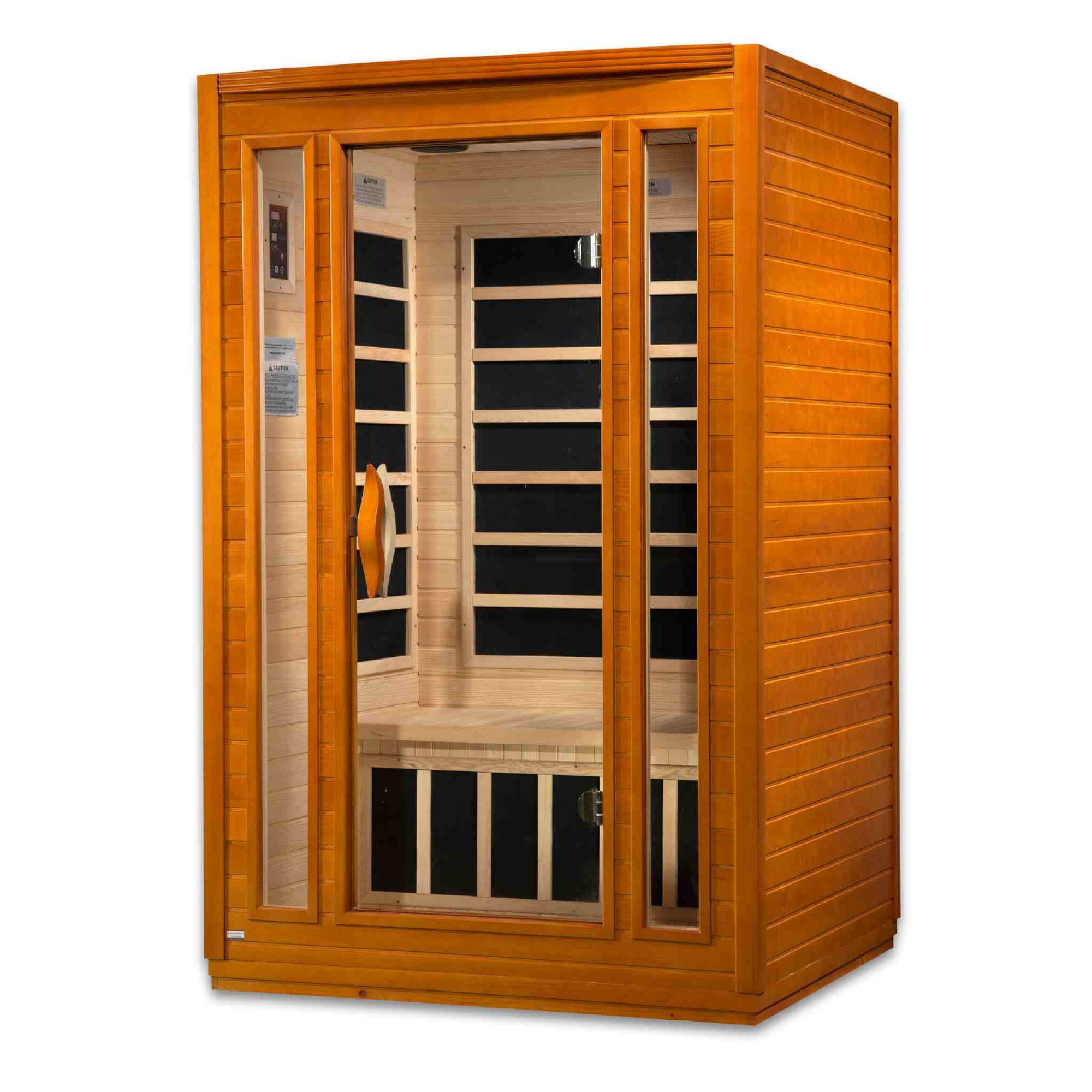 "Dynamic ""San Marino"" 2-person Low EMF Far Infrared Sauna accessory Golden Designs Inc"