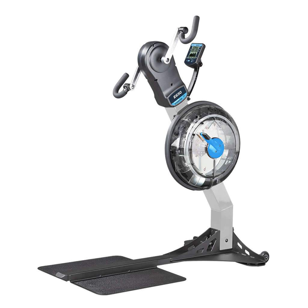 E650 Arm Cycle Standing Upper Body Ergometer Cardio Training First Degree Fitness