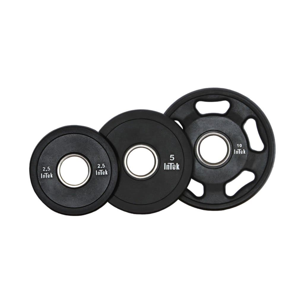 Intek Armor Series Urethane Olympic Plates free weight Intek Strength