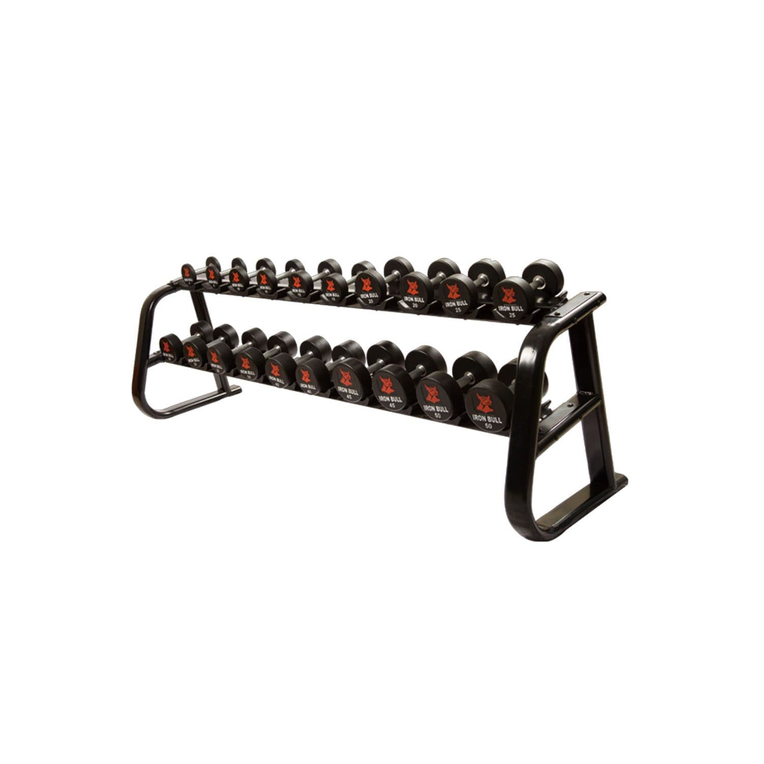 IronBull Fitness IR6300 Dumbbell Rack (Holds 10 Pairs) weight rack IronBull Fitness