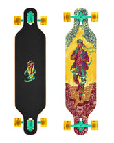 "Drop Through Freeride 39"" True Colors"