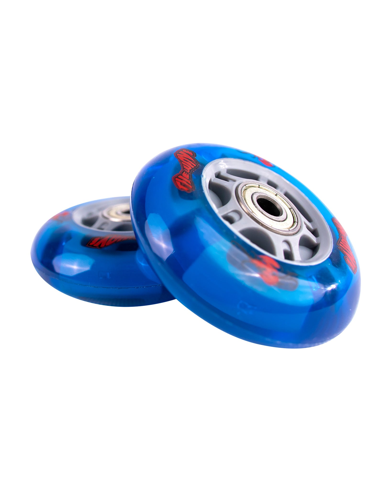 Retro Blue | Wave Board Lightup Wheels