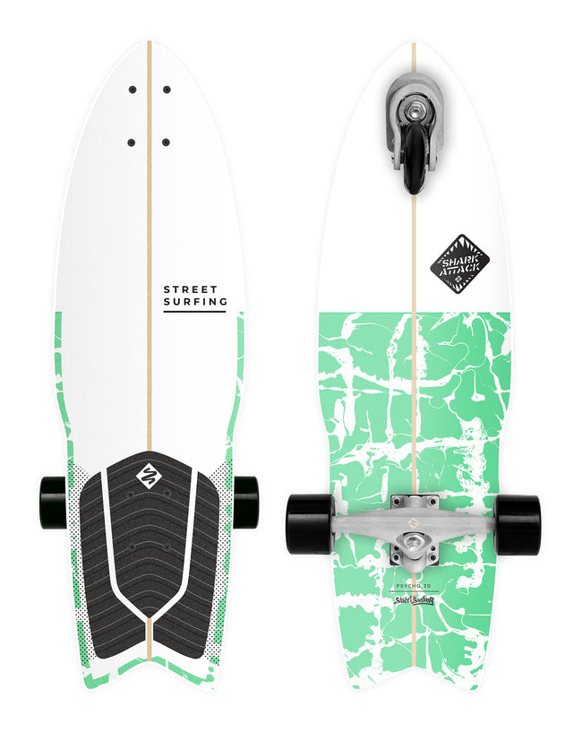"Shark Attack 30"" Psycho Green"