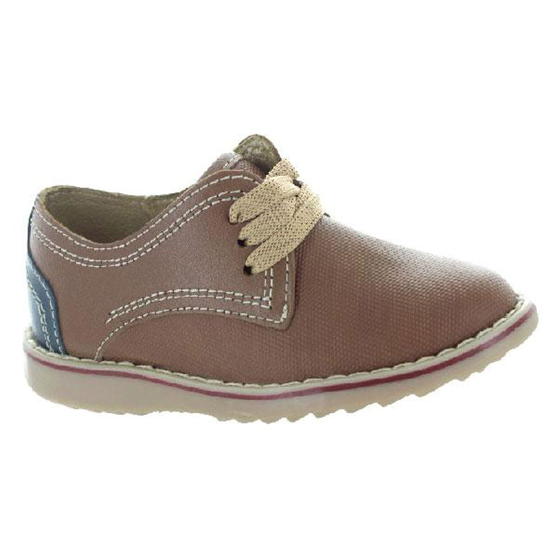 Zapato-Casual-De-Piel-Color-Brandy-Para-Nino