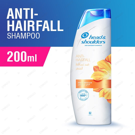 Head & Shoulders Anti Hair Fall Shampoo 200ml