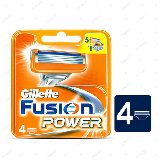 Gillette Fusion Power Shaving Razor Cartridges 4's