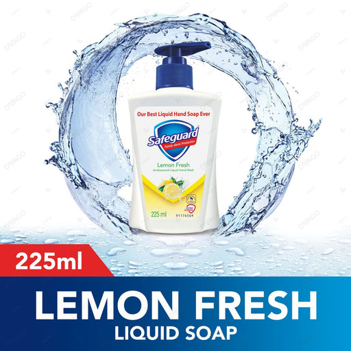 Safeguard Lemon Fresh Liquid Hand Wash Soap 225ml