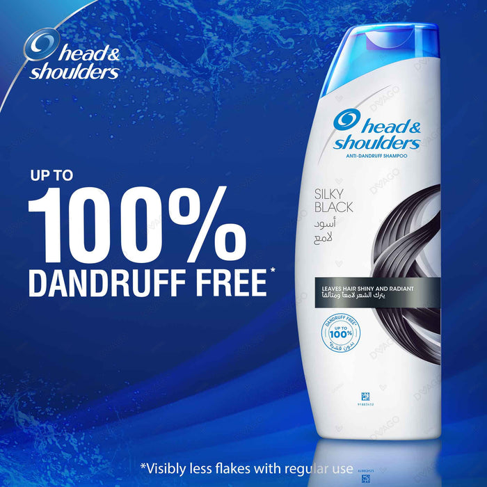 Head & Shoulders Silkyblack Shampoo 200ml