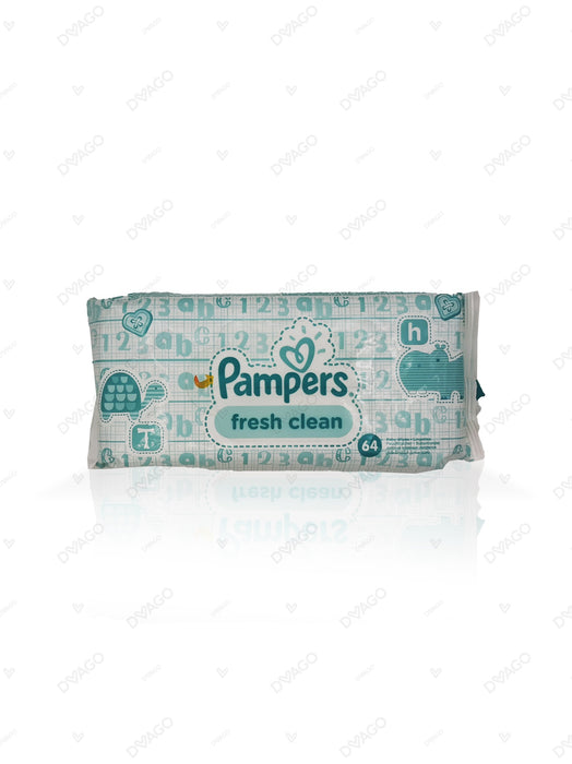 Pamp Baby Wipes Fresh & Clean 64 Count