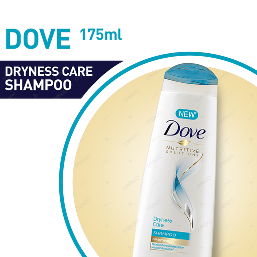 Dove Shampoo Dryness Care 175ml