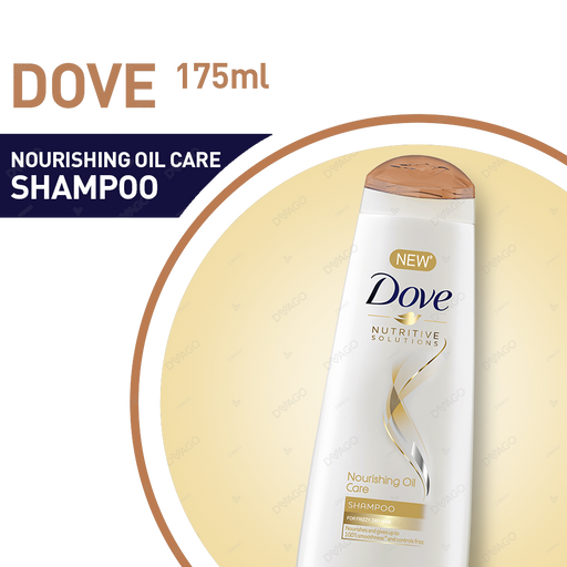Dove Shampoo Nourishing Oil Care 175ml
