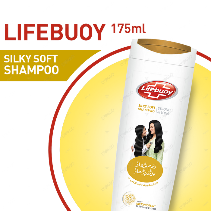 Lifebouy Shampoo Silky Soft 175ml